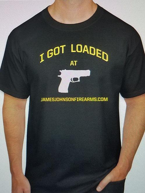 "Men's ""I GOT LOADED"" T Shirt"