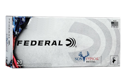 FEDERAL NON-TYPICAL WHITETAIL .450 BUSHMASTER 300GR SP