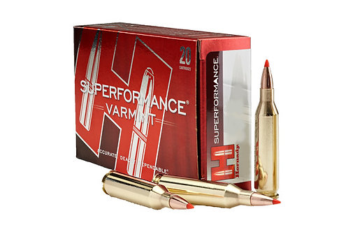 HORNADY CARTRIDGE 22-250 55GR V-MAX