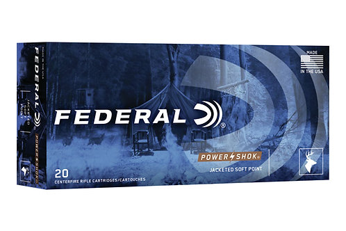 FEDERAL CARTRIDGE 25-06 117GR SP POWER-SHOK