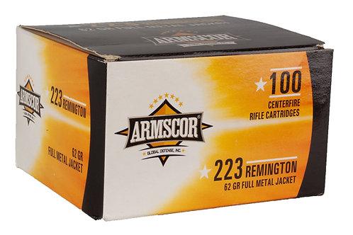 ARMSCOR CARTRIDGE  223 62GR FMJ 100PK