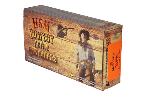 HSM .30-30 165GR RNFPH COWBOY