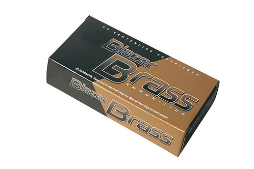 CCI BLAZER BRASS .357 158GR JHP