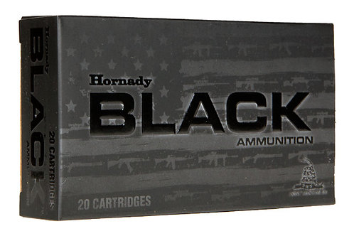 HORNADY BLACK .300AAC BLACKOUT 208GR AMX