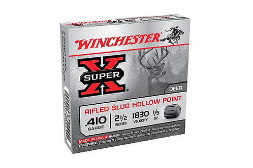 WINCHESTER SUPER X RIFLED SLUG 410G VP