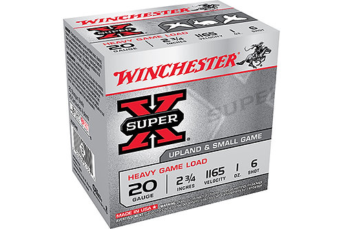 WINCHESTER HEAVY GAME 20G 2.75-1-6