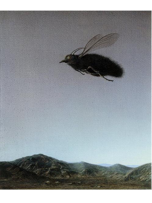 """Pigmentdruck: """"Großer Brummer"""" von Michael Sowa"""
