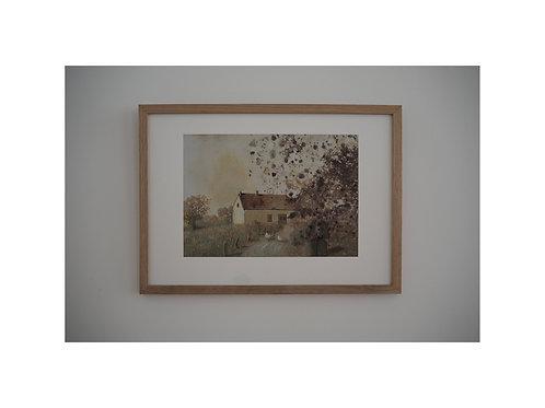 """Pigmentdruck: """"Das letzte Foto von Vater"""" von Michael Sowa"""