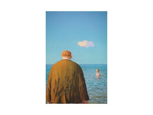 """Pigmentdruck: """"Am Morgen danach"""" von Michael Sowa"""