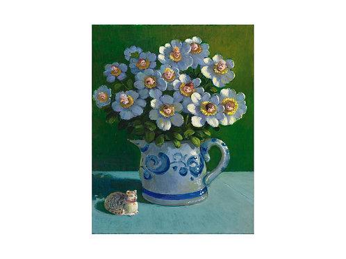 """Pigmentdruck: """"Schnittblumen"""" von Michael Sowa"""