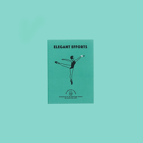 Elegant Efforts PostCard (green)