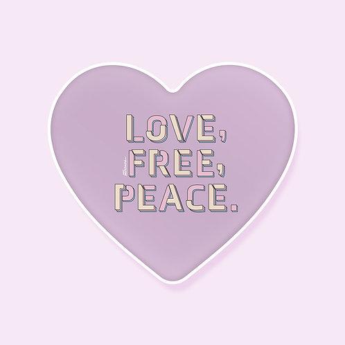 Love Free Peace Smart Tok