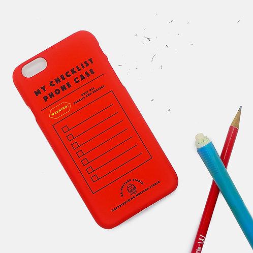 My Checklist Phone Case