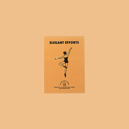 Elegant Efforts PostCard (orange)