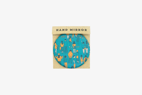 NOWAYOUT hand mirror