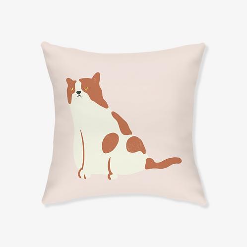 Bull Cat Pillow