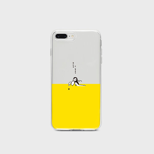 Woman Rest Phone Case, jelly