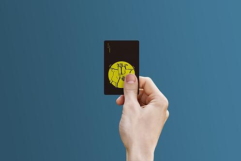 MOONLIGHT friend card mirror