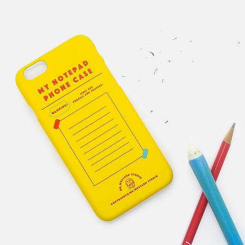 My Notepad Phone Case