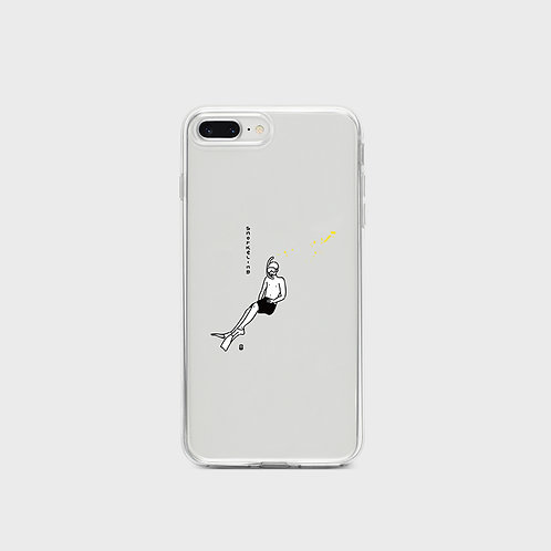 Snorkeling Phone Case, jelly