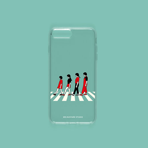 Abbey Road Phone Case, jelly