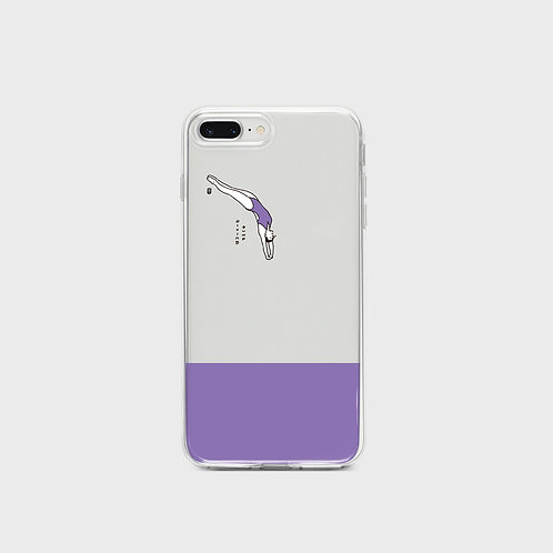 Diving Phone Case, jelly