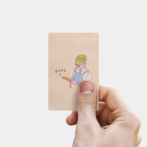 Make a Happy Card Mirror