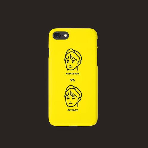 MuscleBoy Vs CuteBoy Phone Case