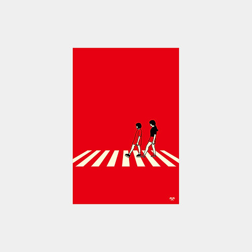 Abbey Road 2 person Post Card