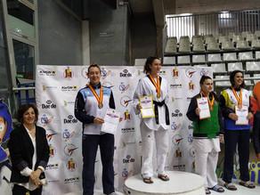 Campeonato de España Absoluto: plata para Sofía y bronce para José.