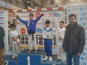 Xoan Zapata, medalla de bronce en su debut.