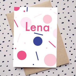 Geboortekaartje_LENA