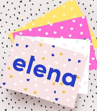 Geboortekaartje_ELENA
