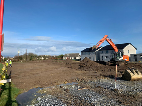 Work is progressing well at our 30 house development in Ardfert, Co. Kerry