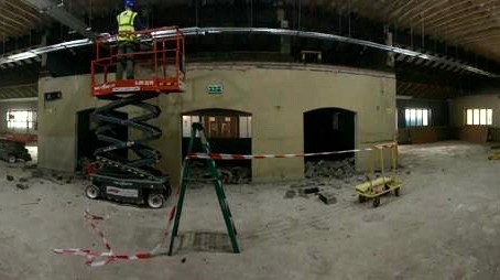Work is underway on a new bar and restaurant fit-out at the Commons Inn, Cork.