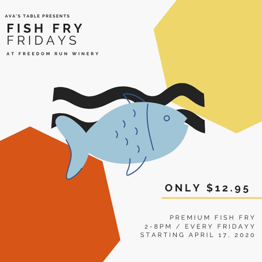 FISH FRY FRIDAY @ FREEDOM RUN WINERY
