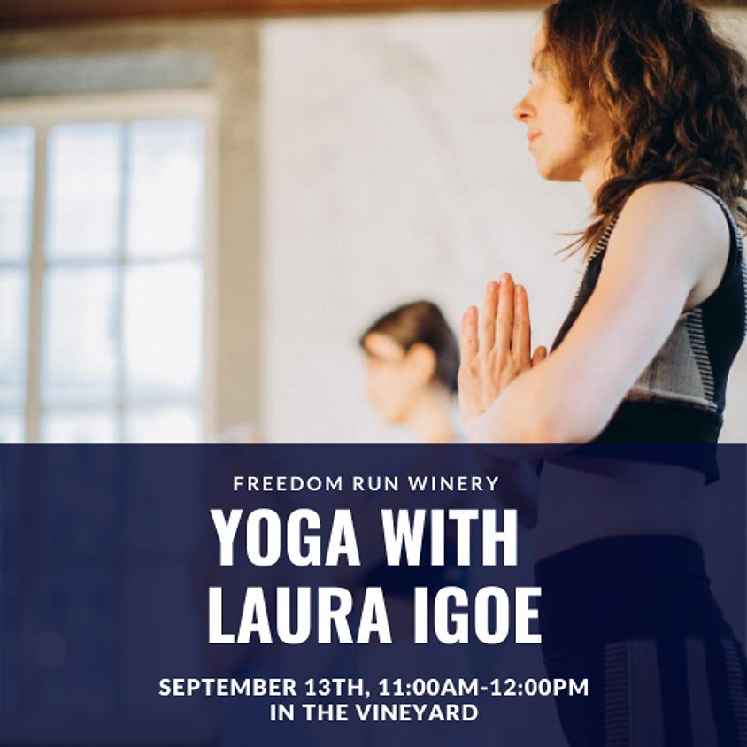 Yoga with Laura Igoe @ Freedom Run Winery