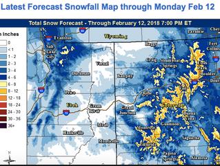 More Snow, More Slides, More Winter.