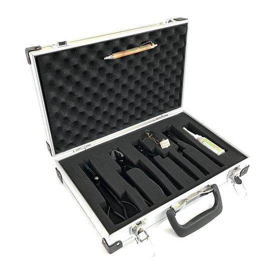 Mallette Aluminium 5 outils ACIER CHROME
