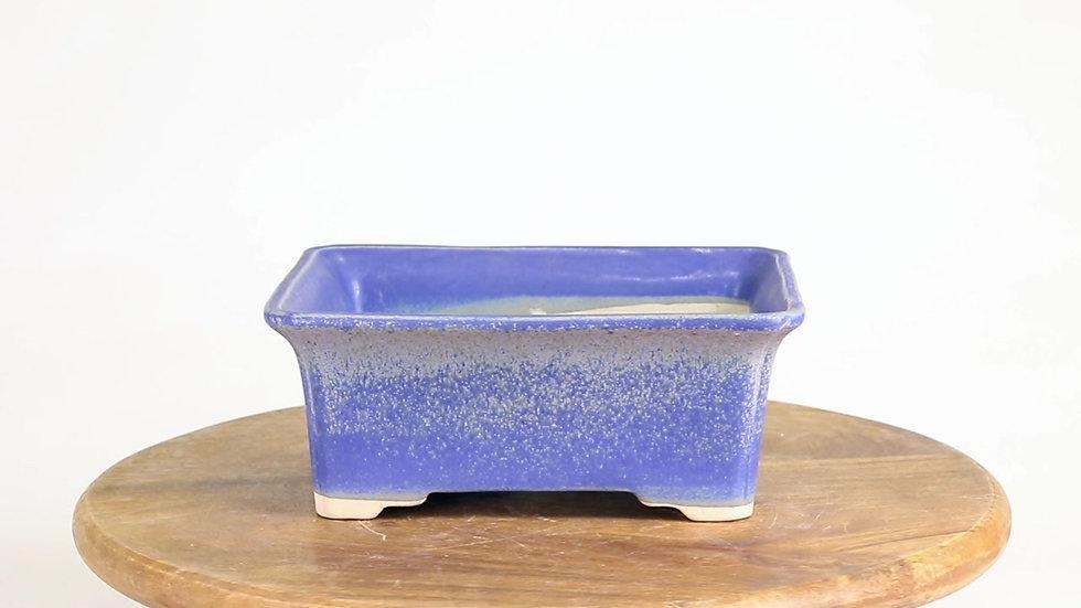 18 x 14 x 8 cm Céramique unique bleu