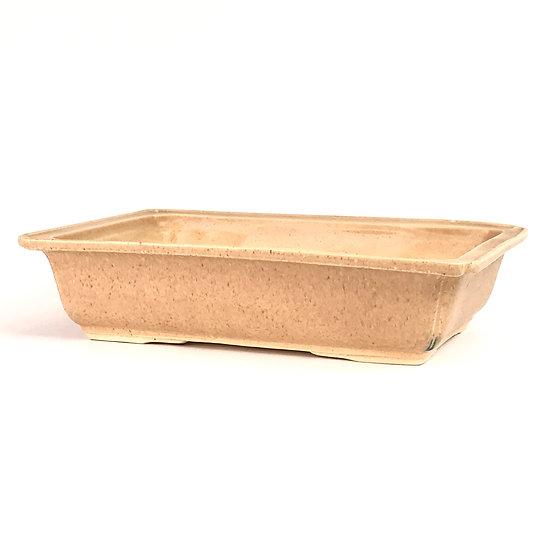 28 x 19 x 7 cm Céramique artisanale unique sable Rèf E41G