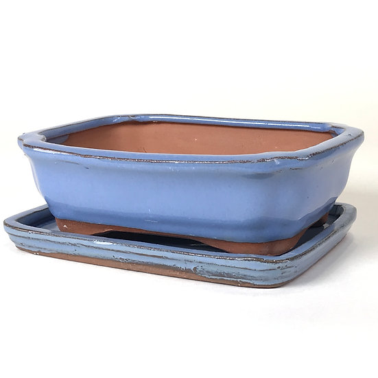 16 x 12 x 5 cm bleu ciel inclus soucoupe   W30