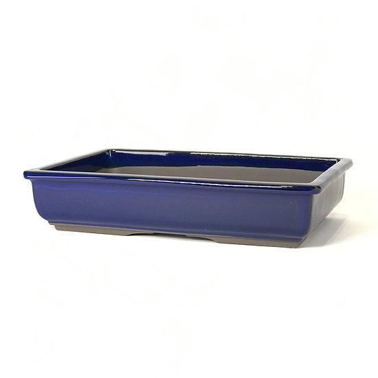 34 x 22 x 7 cm bleu Japonaise