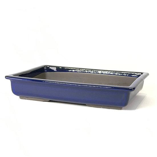 30 x 21 x 6 cm bleu Japonaise