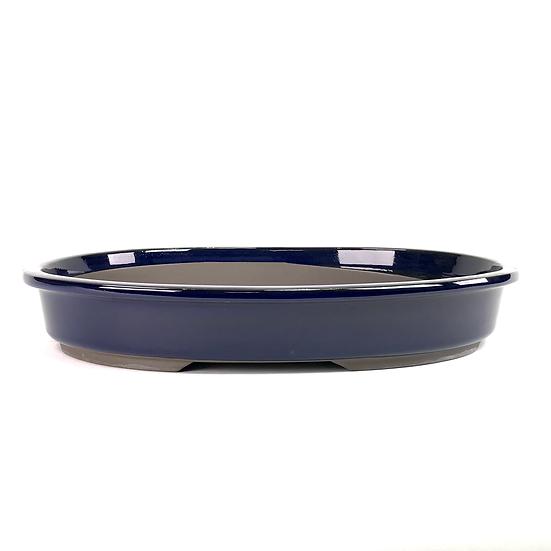 38 x 30 x 6 cm bleu Japonaise