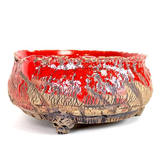 13 x 13 x 6 cm Céramique artisanale P. TORCATIS