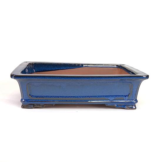 35 x 27 x 10 cm  Bleu    W41