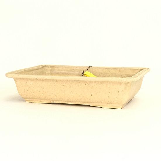 28 x 20 x 6 cm Céramique artisanale unique sable Rèf 793B