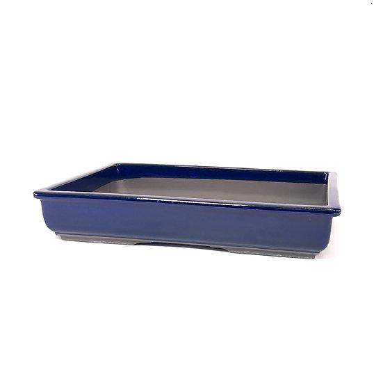40 x 28 x 7 cm bleu Japonaise