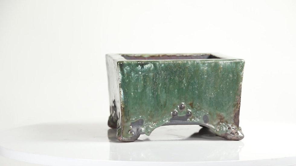 18 x 18 x 11 cm Céramique unique Lubos Skoda